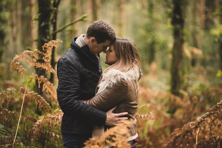C + C   Irish Woods   Pre Wedding Shoot