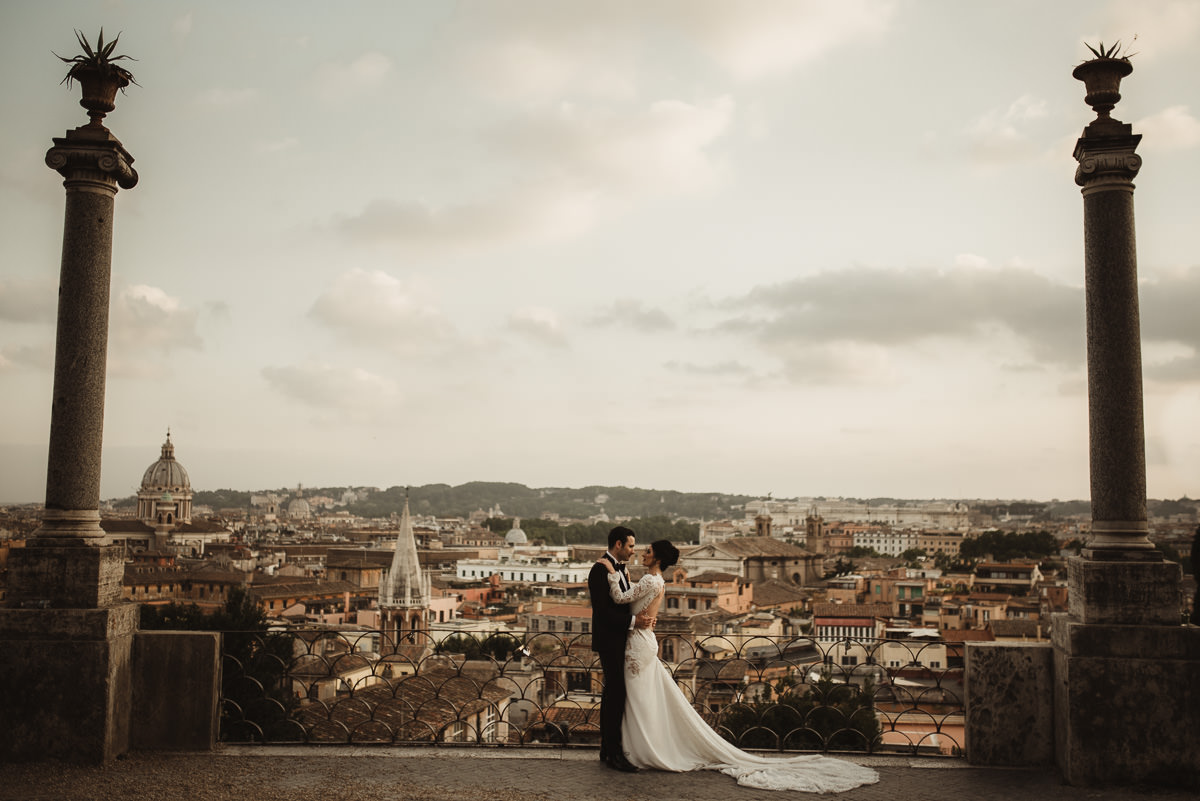 destination wedding photographer rome fotografo matrimonio roma casina valadier 114