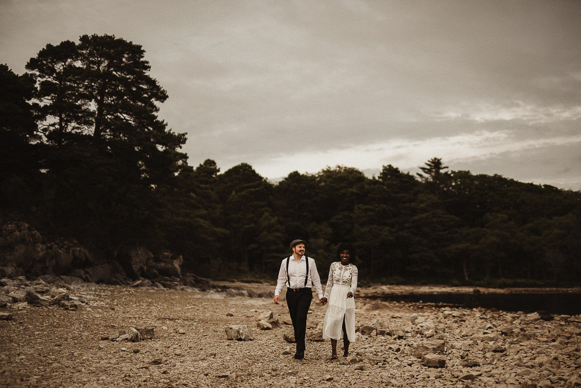 killarney elopement wedding photography ireland beautiful couple portraits love romantic ligtht 013