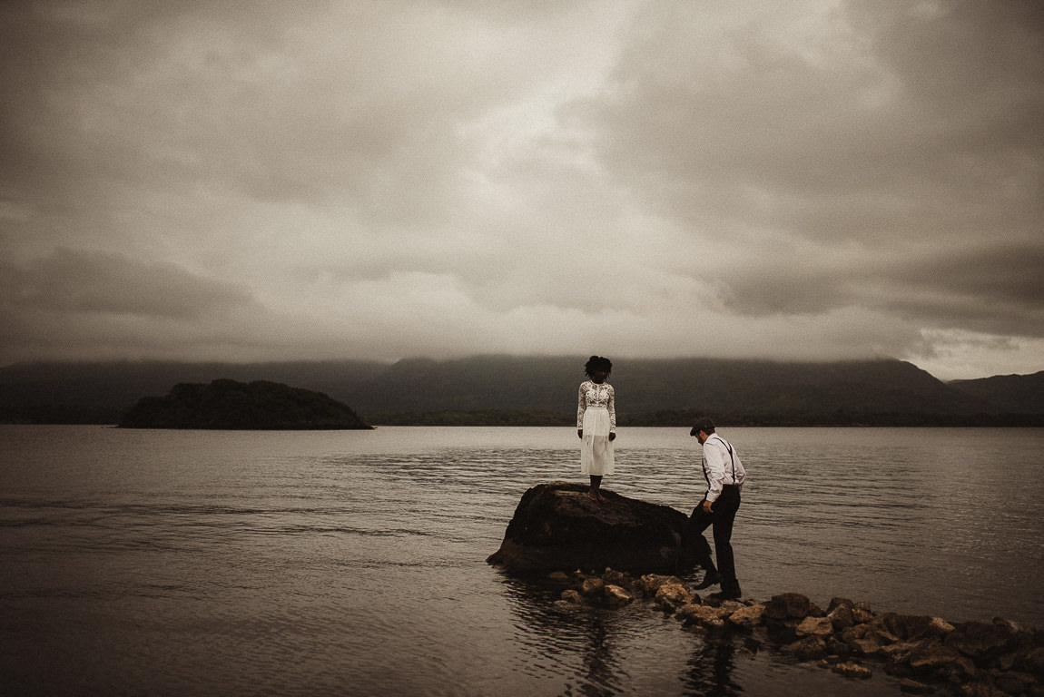 killarney elopement wedding photography ireland beautiful couple portraits love romantic ligtht 025