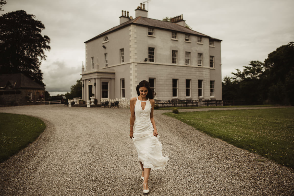 boyne hill house co meath wedding outdoor ceremony ireland alternative wedding 031