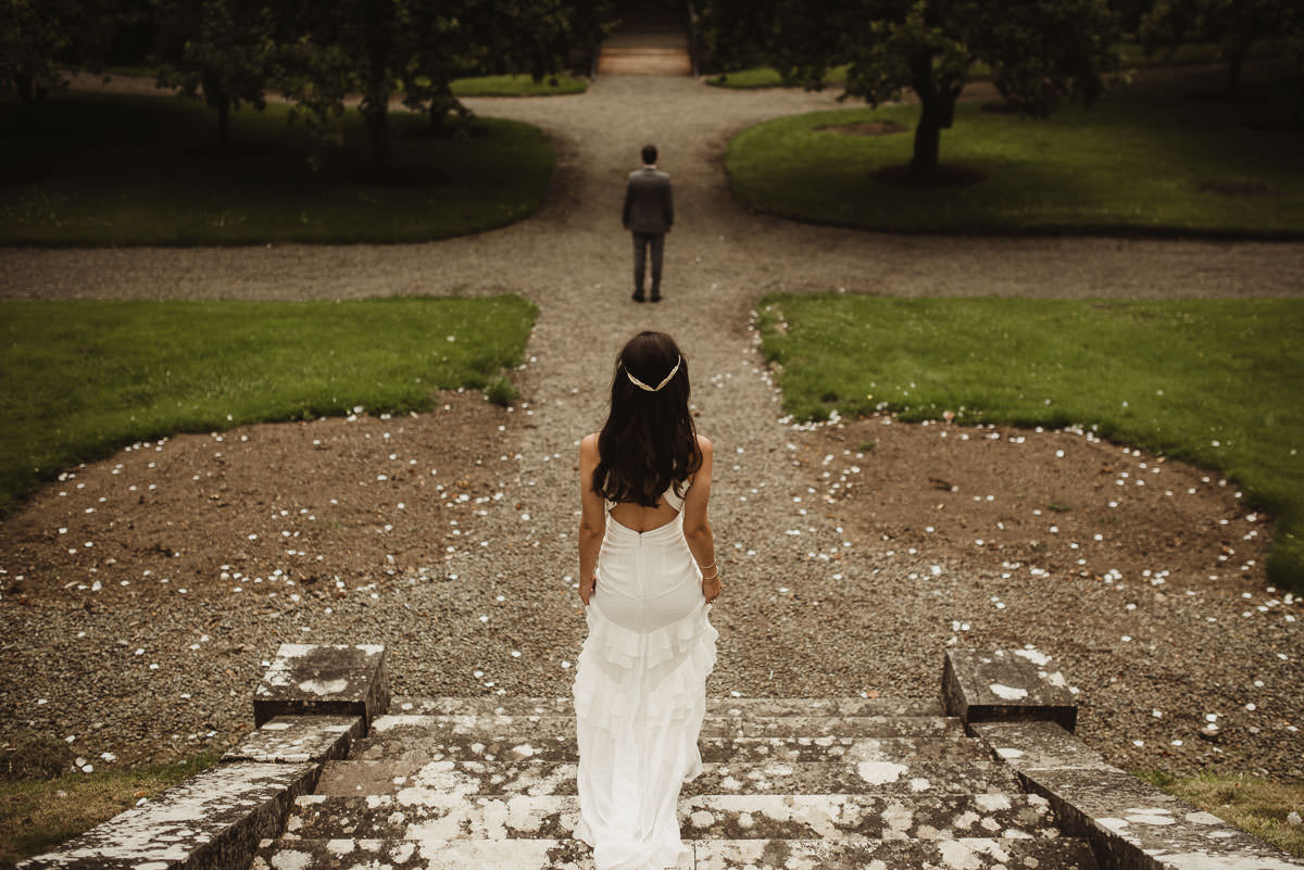 boyne hill house co meath wedding outdoor ceremony ireland alternative wedding 032