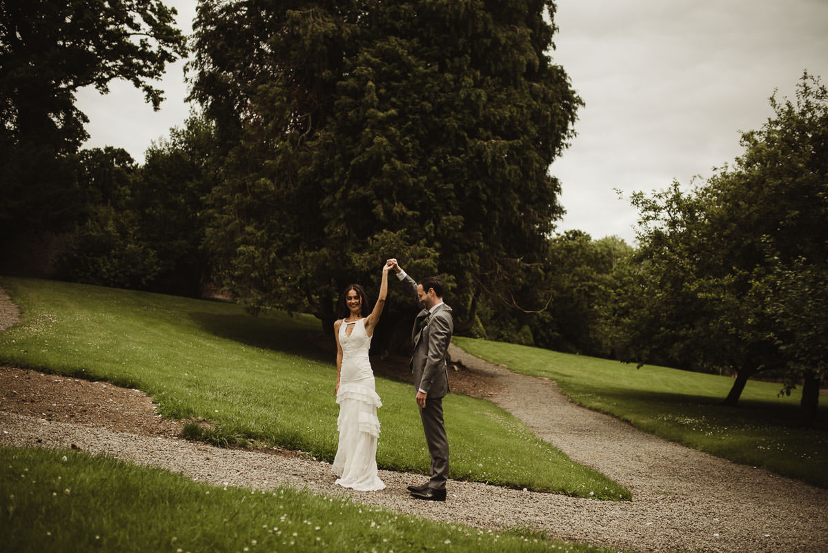 boyne hill house co meath wedding outdoor ceremony ireland alternative wedding 037