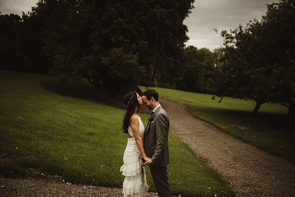 boyne hill house co meath wedding outdoor ceremony ireland alternative wedding 039
