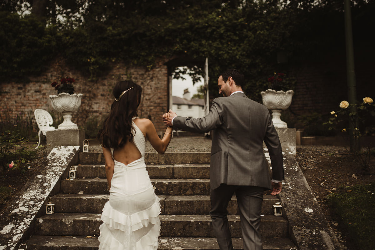 boyne hill house co meath wedding outdoor ceremony ireland alternative wedding 040