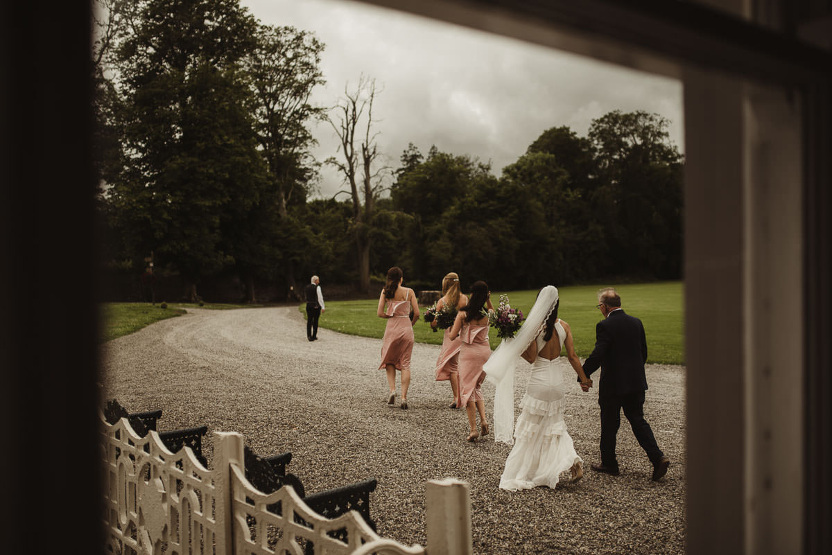 boyne hill house co meath wedding outdoor ceremony ireland alternative wedding 055