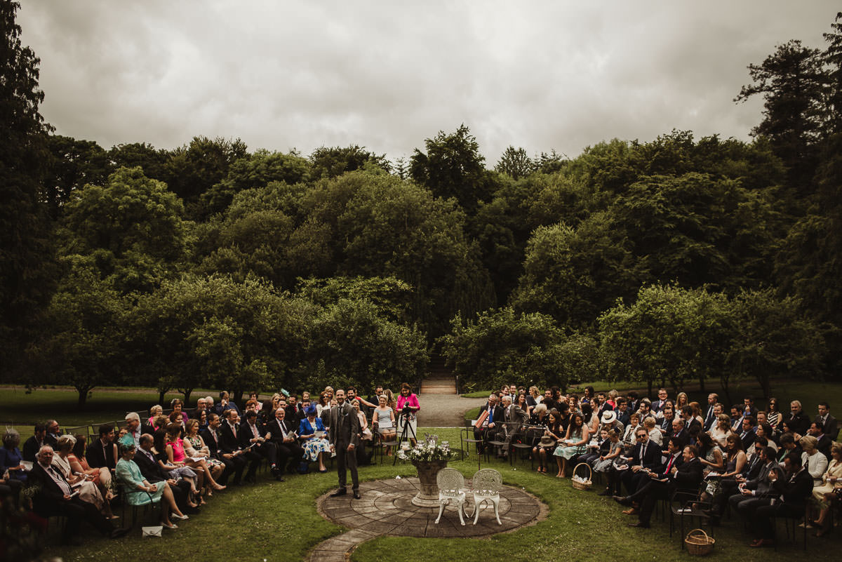 boyne hill house co meath wedding outdoor ceremony ireland alternative wedding 056