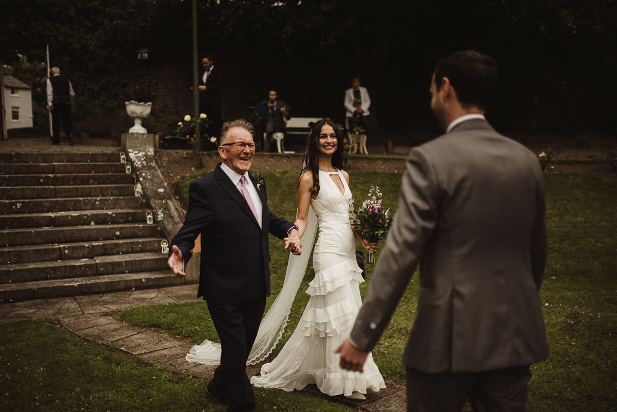 boyne hill house co meath wedding outdoor ceremony ireland alternative wedding 060