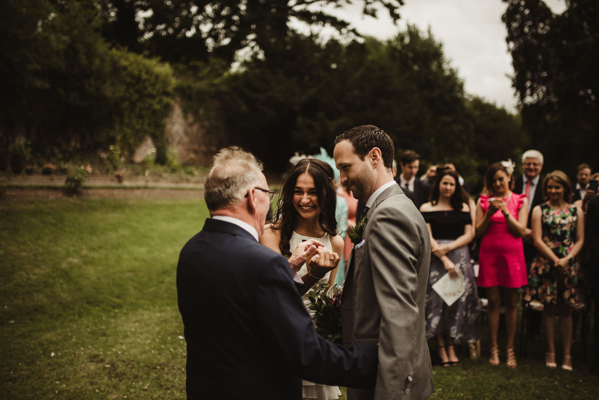 boyne hill house co meath wedding outdoor ceremony ireland alternative wedding 061