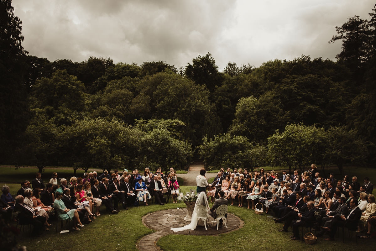 boyne hill house co meath wedding outdoor ceremony ireland alternative wedding 063