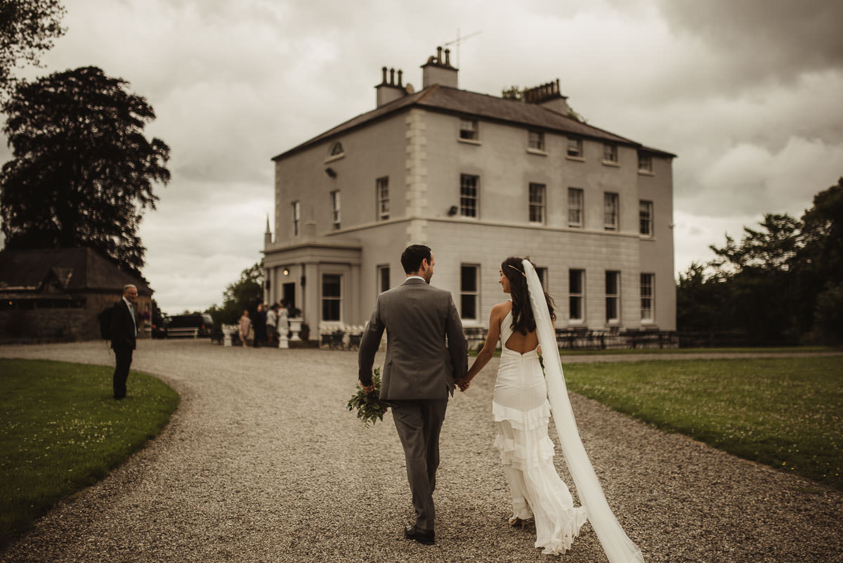 boyne hill house co meath wedding outdoor ceremony ireland alternative wedding 089