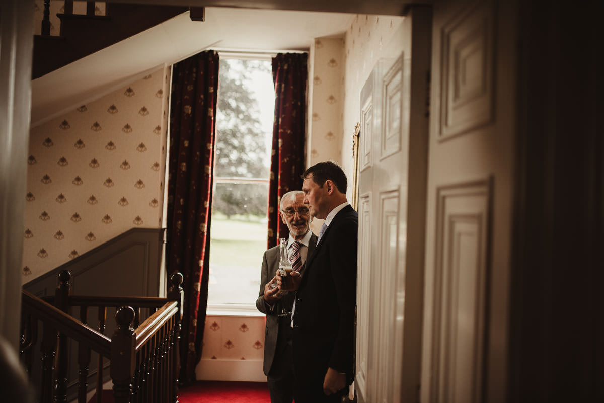 boyne hill house co meath wedding outdoor ceremony ireland alternative wedding 090