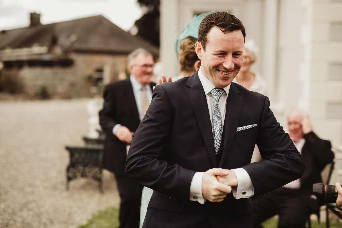 boyne hill house co meath wedding outdoor ceremony ireland alternative wedding 103