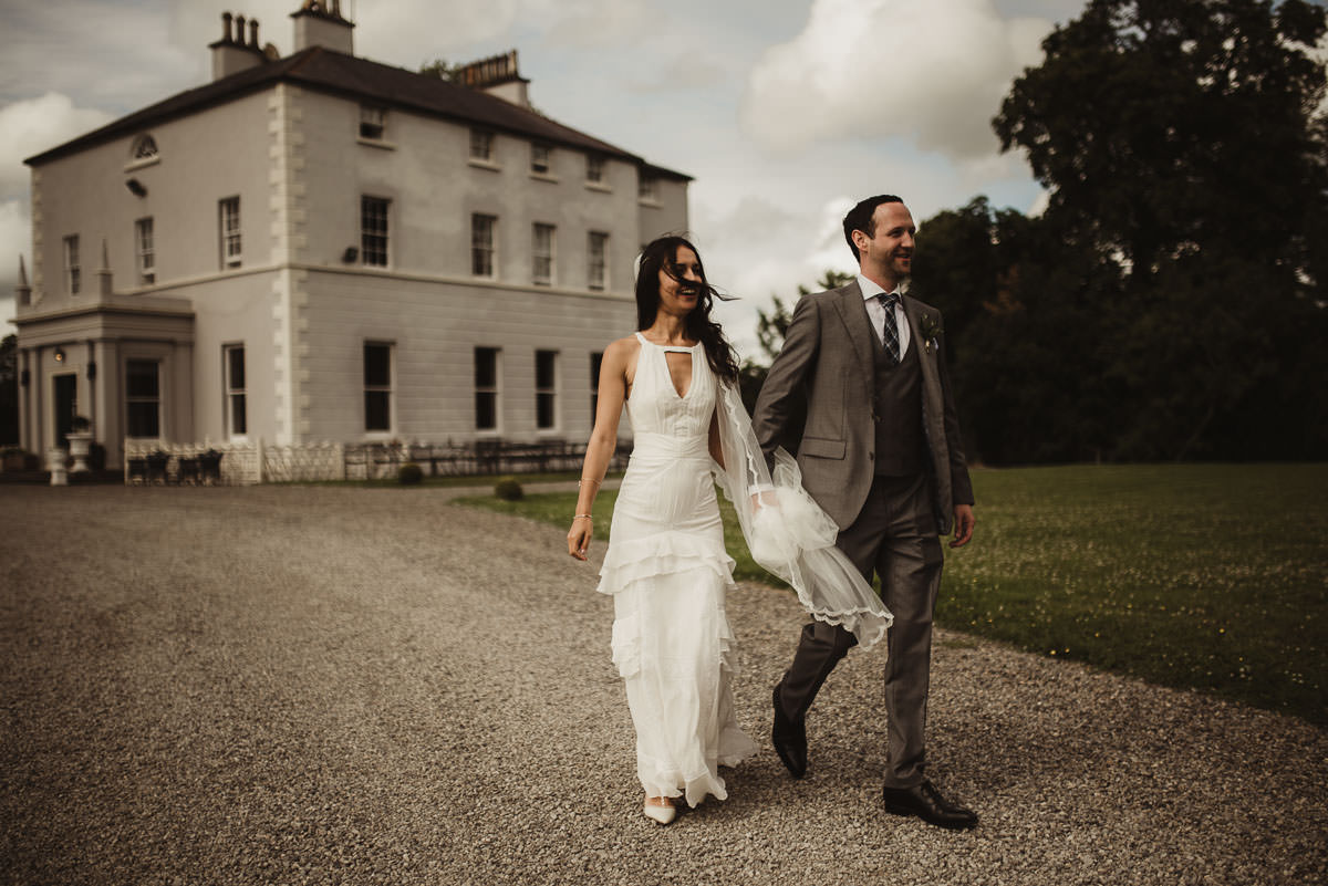 boyne hill house co meath wedding outdoor ceremony ireland alternative wedding 106