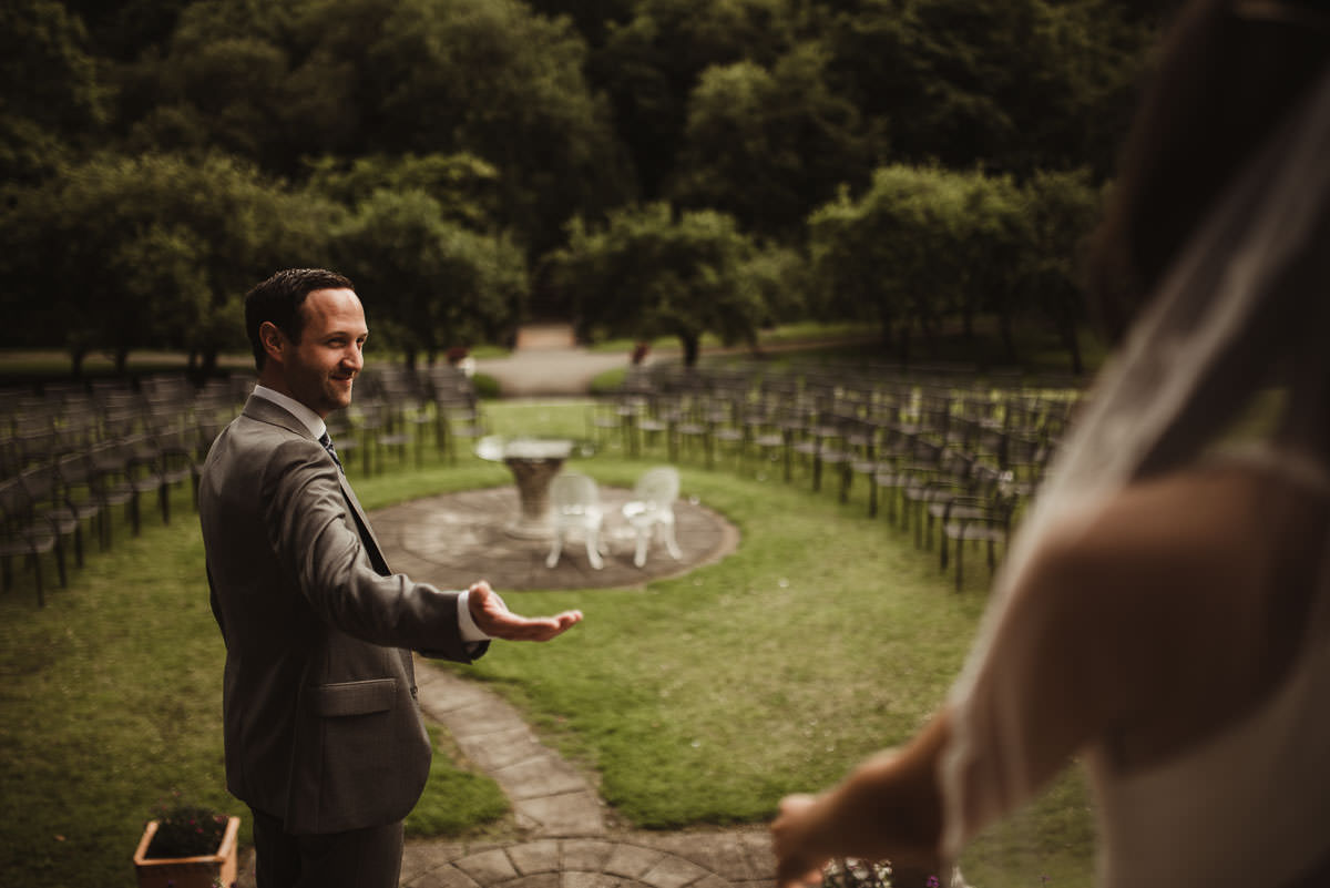 boyne hill house co meath wedding outdoor ceremony ireland alternative wedding 107