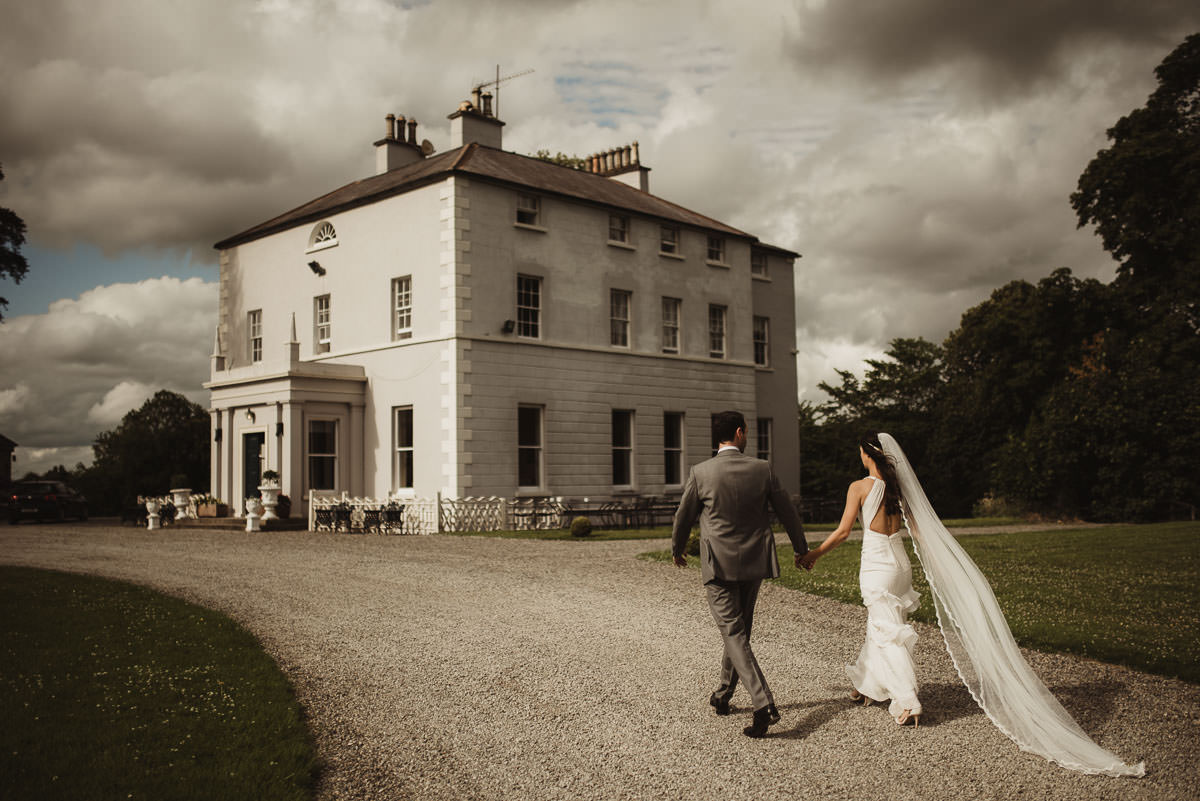 boyne hill house co meath wedding outdoor ceremony ireland alternative wedding 120