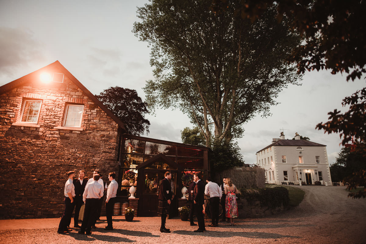 boyne hill house co meath wedding outdoor ceremony ireland alternative wedding 194