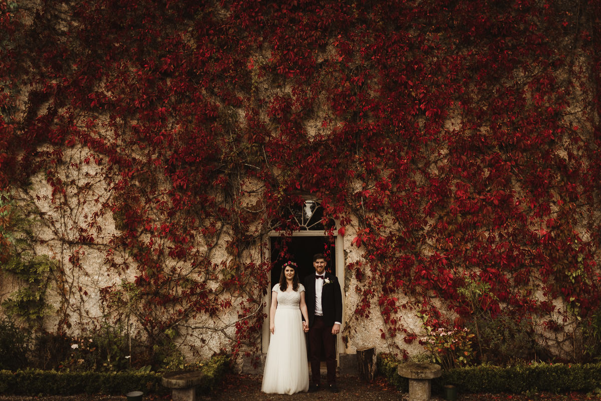 cloughjordan house wedding relaxed autumn wedding in ireland 078