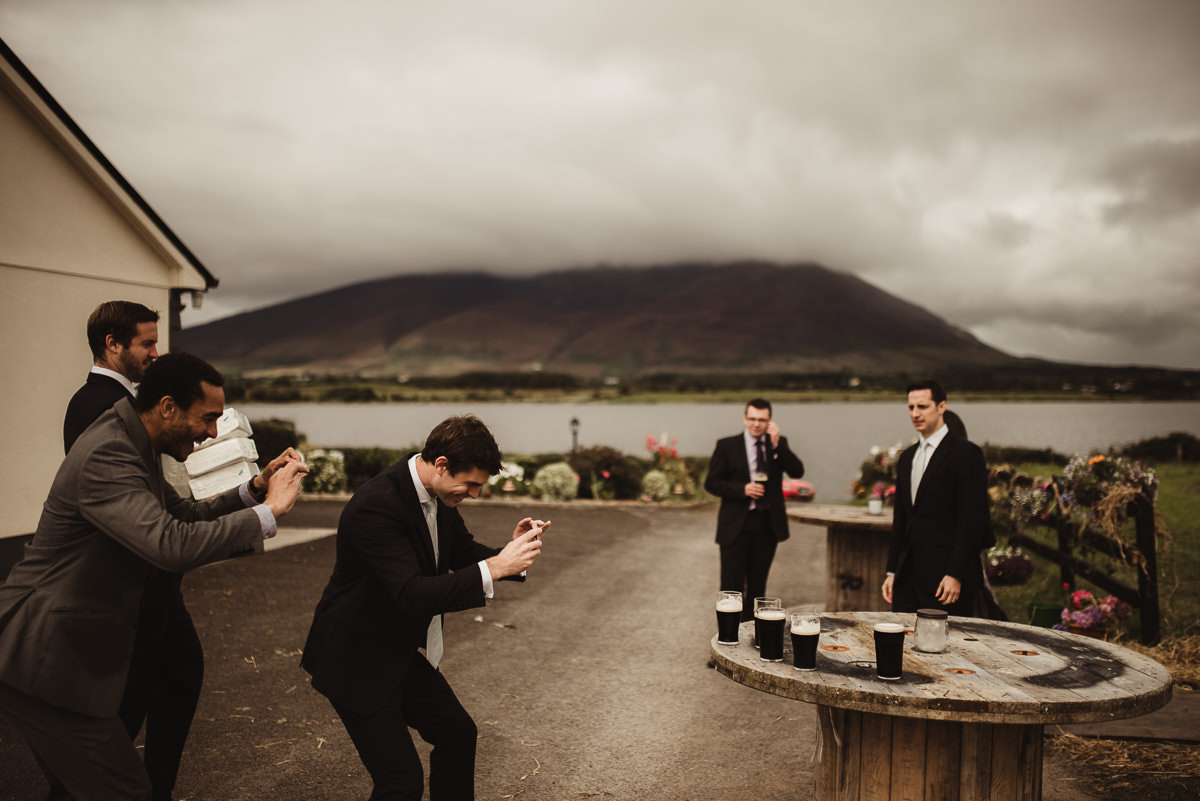 marquee wedding at home in ireland alternative wedding photographer 010