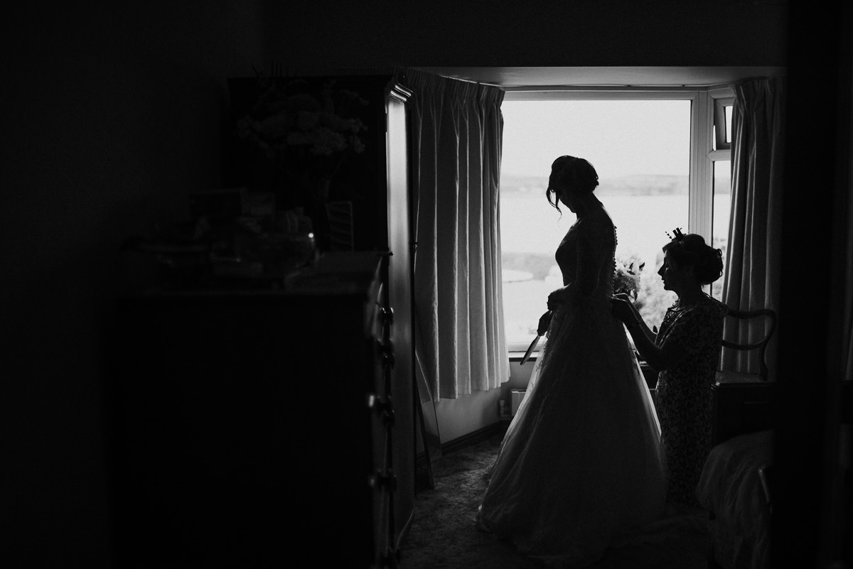 marquee wedding at home in ireland alternative wedding photographer 020