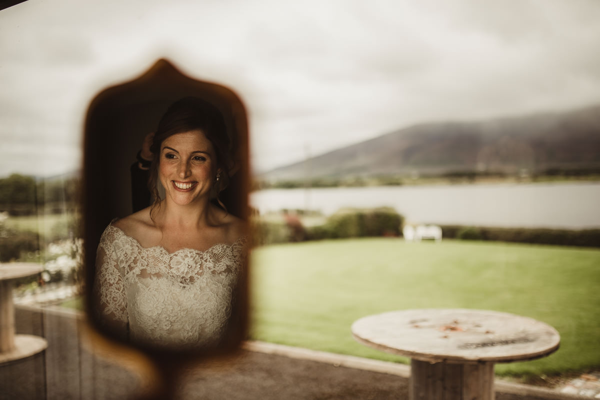 marquee wedding at home in ireland alternative wedding photographer 023