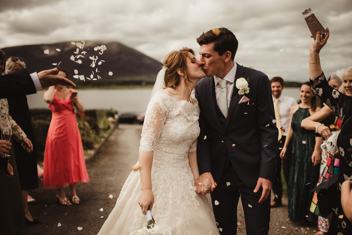 marquee wedding at home in ireland alternative wedding photographer 075