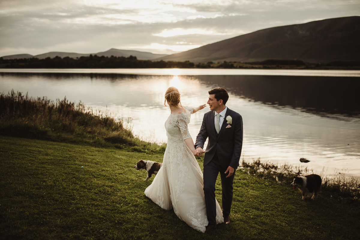 marquee wedding at home in ireland alternative wedding photographer 116