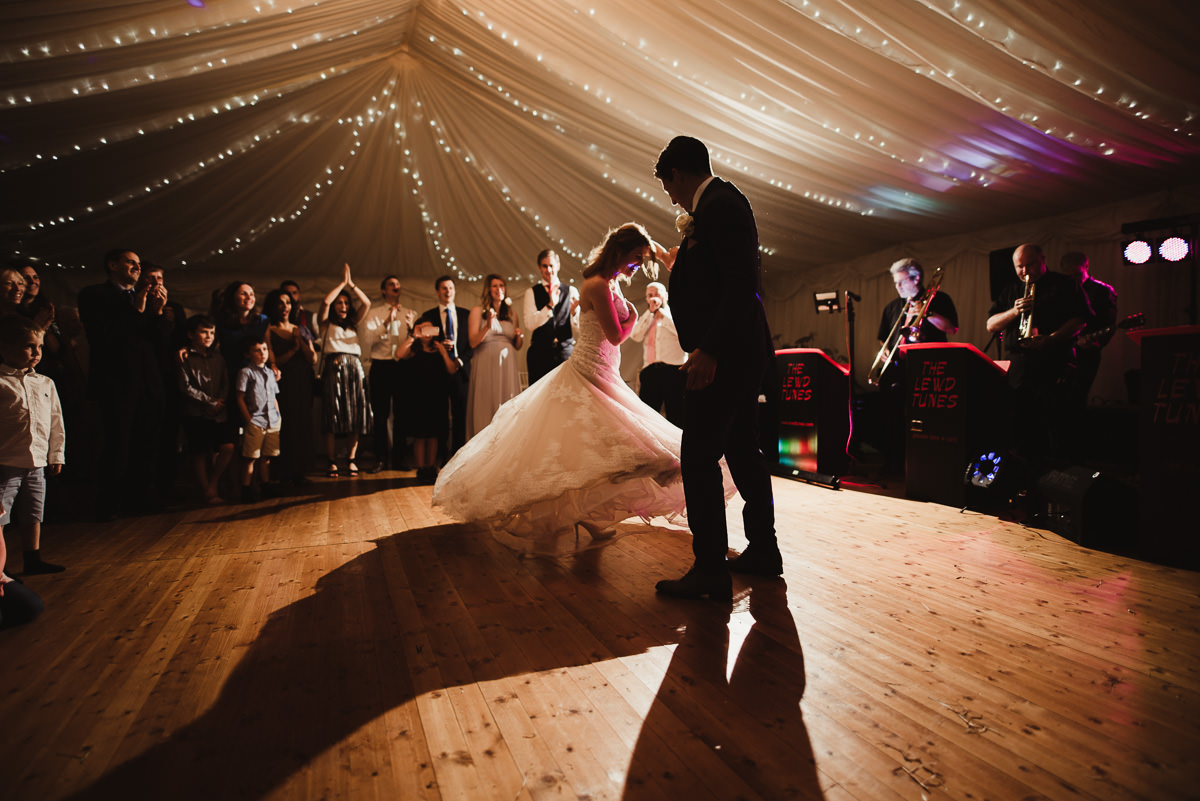 marquee wedding at home in ireland alternative wedding photographer 148