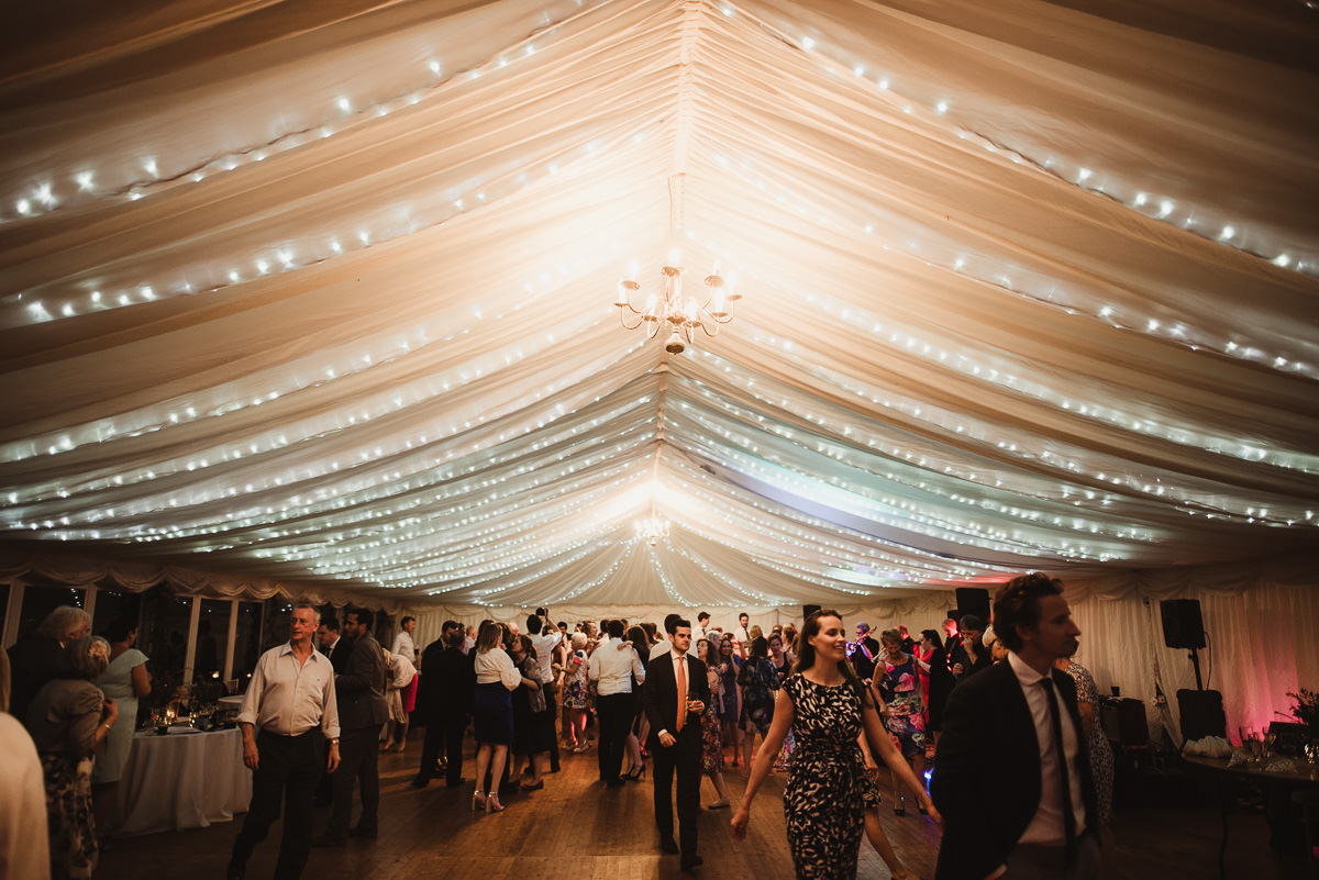 marquee wedding at home in ireland alternative wedding photographer 156