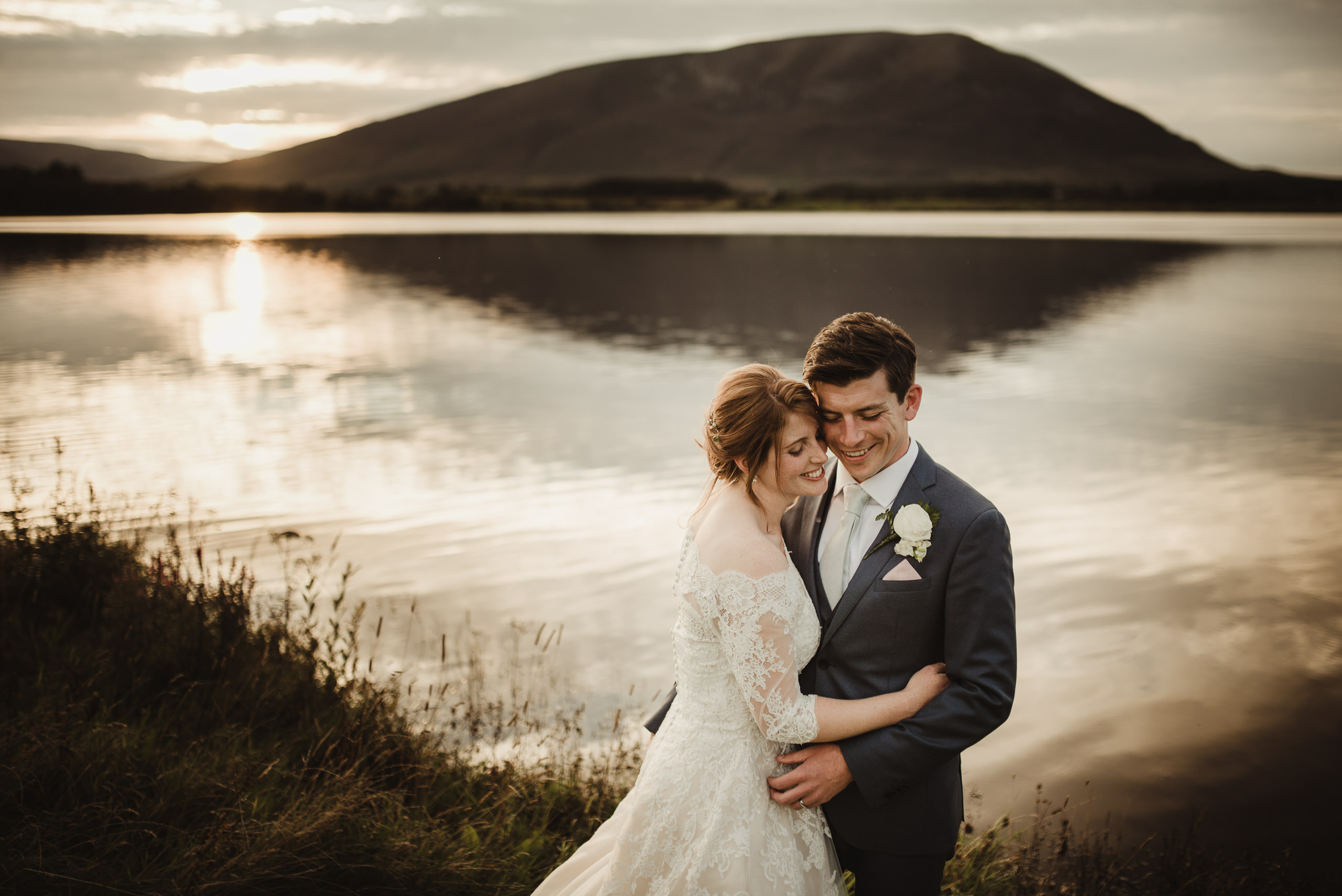 marquee wedding at home in ireland alternative wedding photographer
