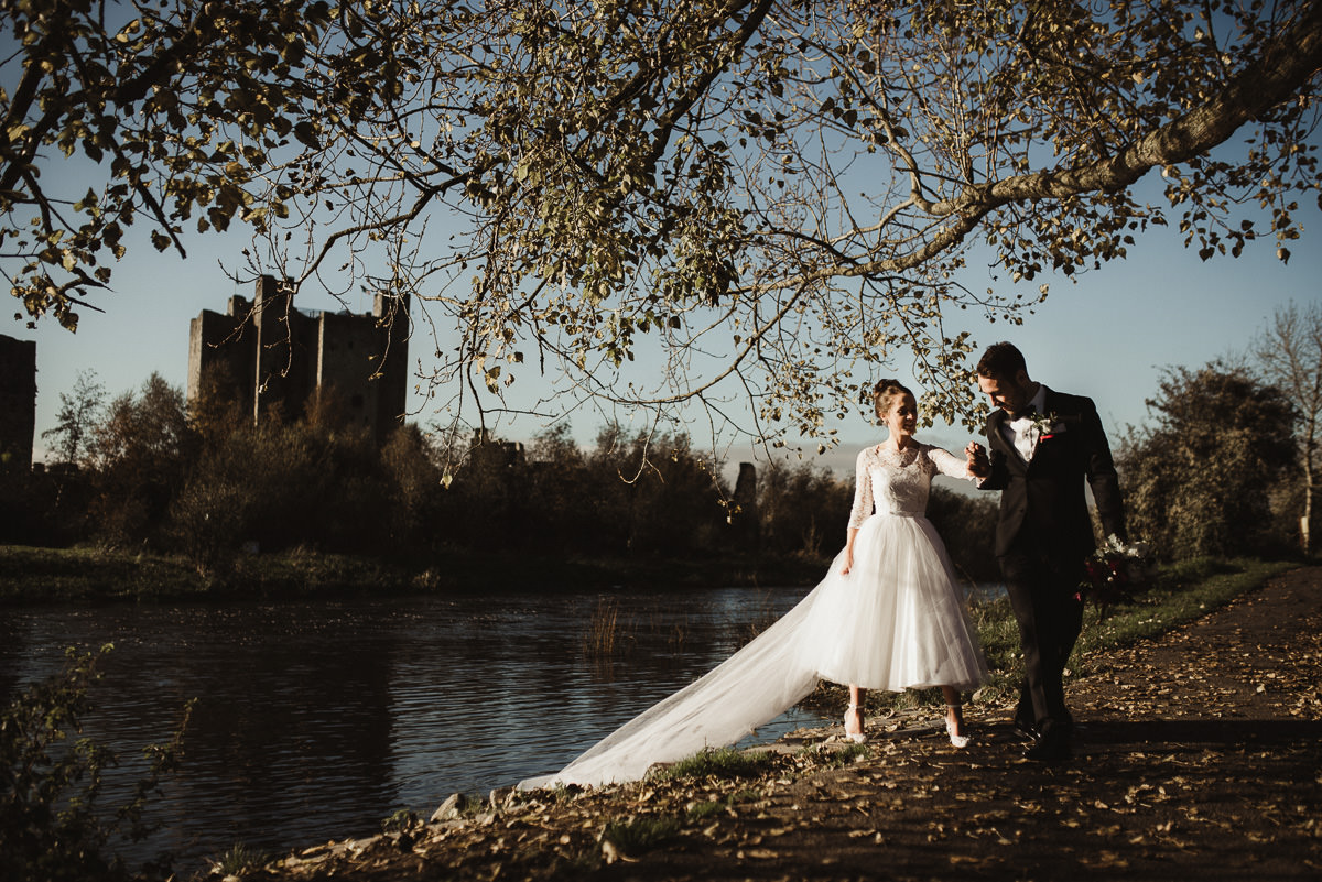 trim castle wedding