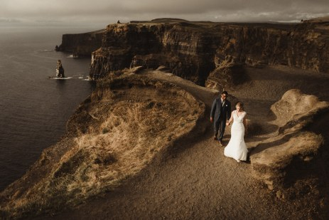 cliffs of moher elopement 019