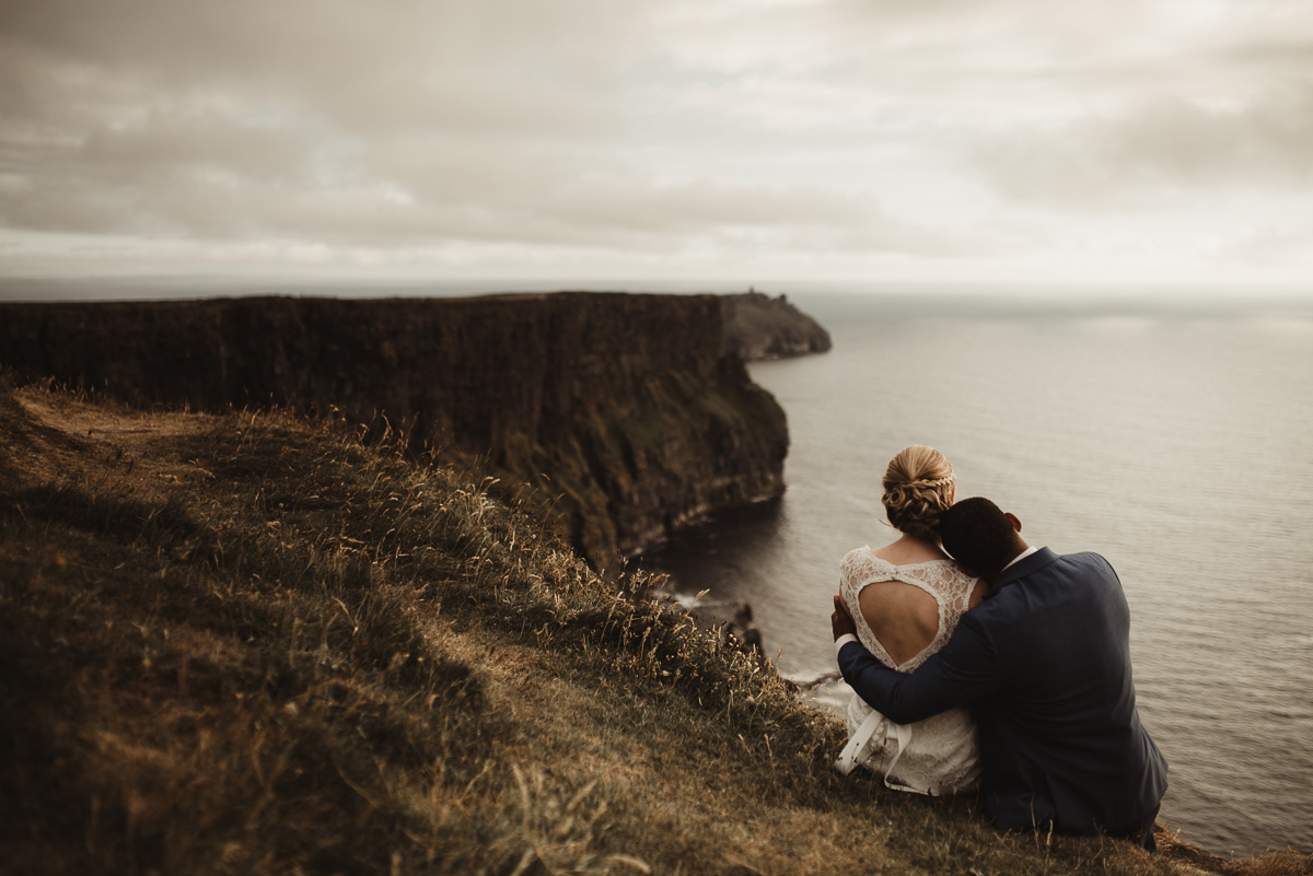 cliffs of moher elopement 022