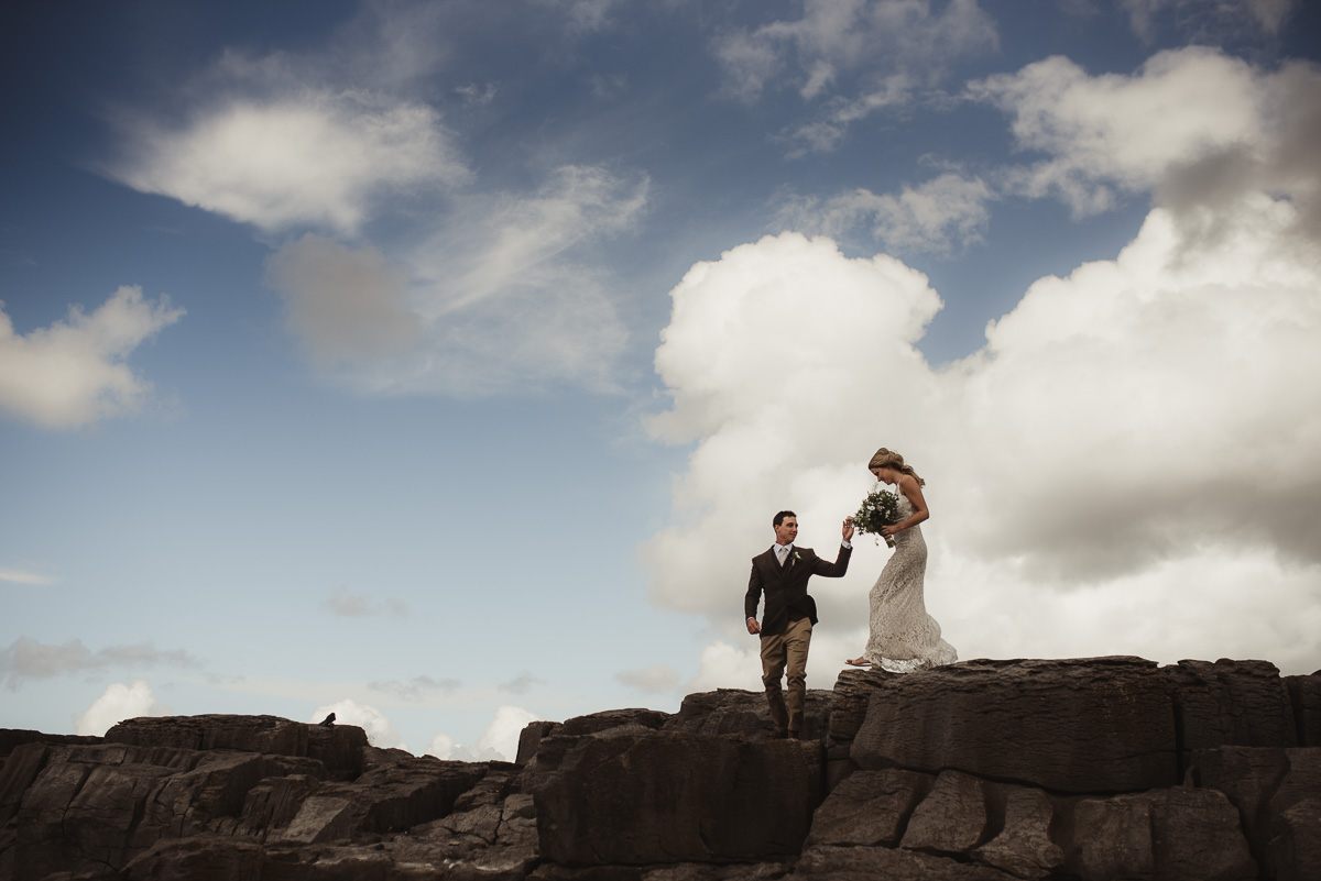 cliffs of moher ireland wedding 030